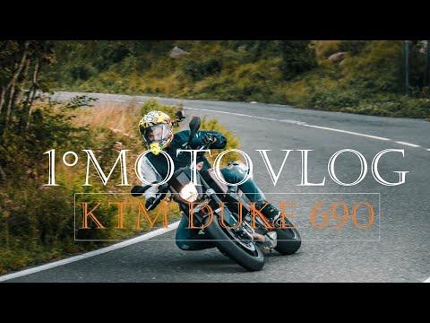 ° MOTOVLOG - Ktm Duke  & Husaberg TE  T MOTARD   NIKUSKH  