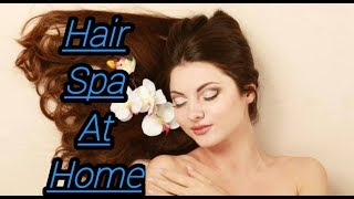How to hair spa at home DIY hair spa