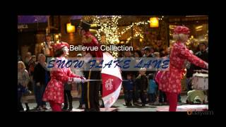 Largest Free Nightly Holiday Performance - Snow Flake Lane, Bellevue Collection