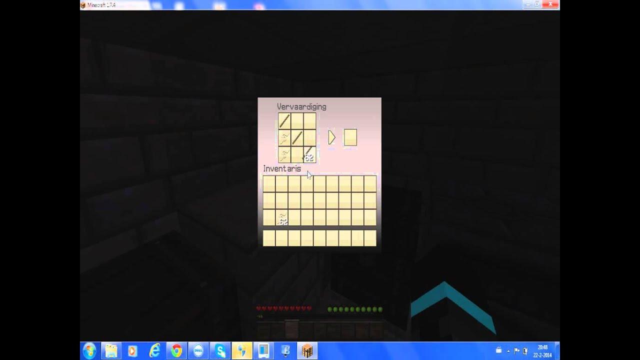Minecraft hoe maak je een vishengel youtube - Hoe maak je een woonkamer ...