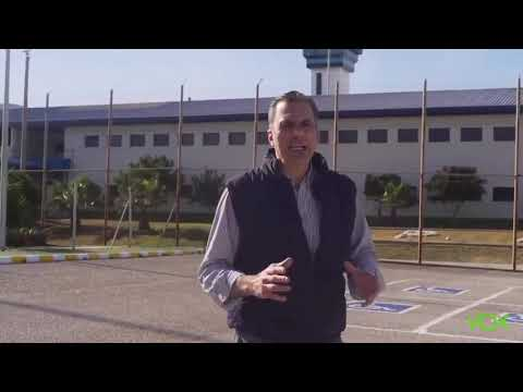 Ortega Smith visita la cárcel de Algeciras
