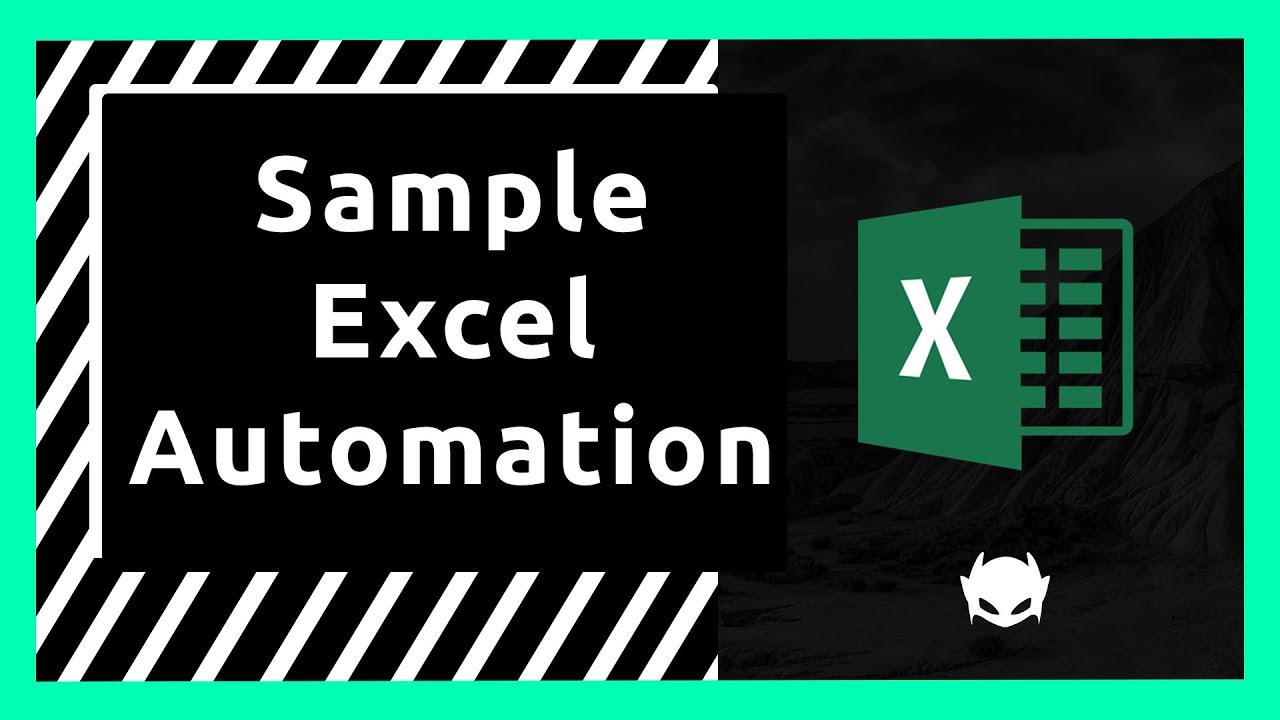 Sample Automated Excel Report Workflow | Pandas, Matplotlib