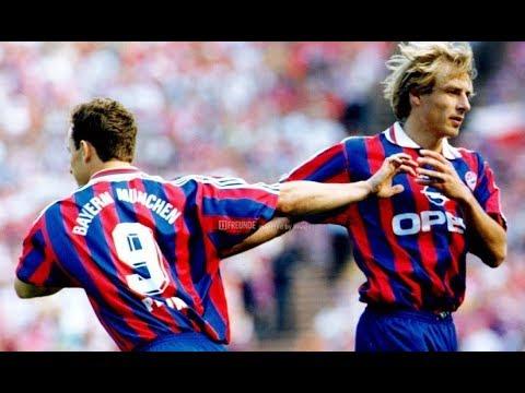 1996 Klinsmann + Papin (Bayern Munich) VS Barcelona