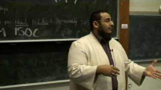 FOSIS Talk: Sheikh Yahya Ibrahim- Prophet Joseph 1/5