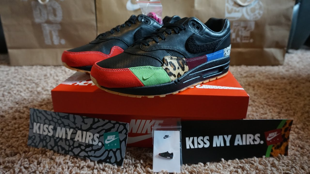 new concept 534f8 69b41 Nike Air Max 1 Master (Unboxing)  (Review) (HD)