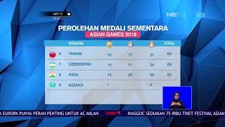 Download Video Klasemen Perolehan Medali Asian Games 1 September 2018-NET12 MP3 3GP MP4