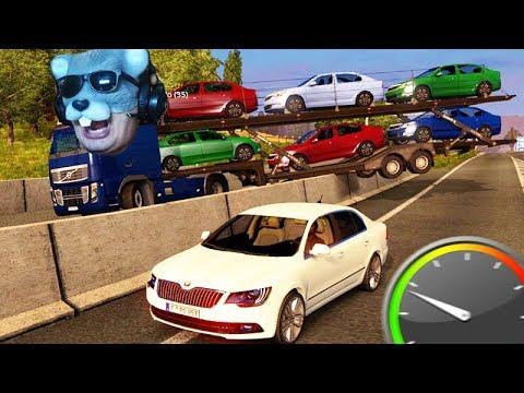 A ESCOLTA do RATÃO!!! - Euro Truck Simulator 2 MP!!!