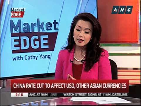 China rate cut to affect peso, US dollar