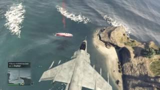 GTA 5 Hydra vs Sailing Yacht