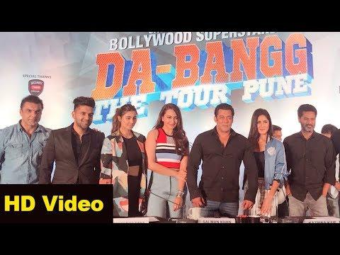 Salman Khan Da-Bangg The Tour Pune FULL Video | Katrina Kaif, Sonakshi Sinha, Prabhu Deva,
