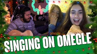 Singing To Girls On Omegle - CHRISTMAS EDITION!