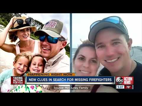 New clues in search for missing firefighters