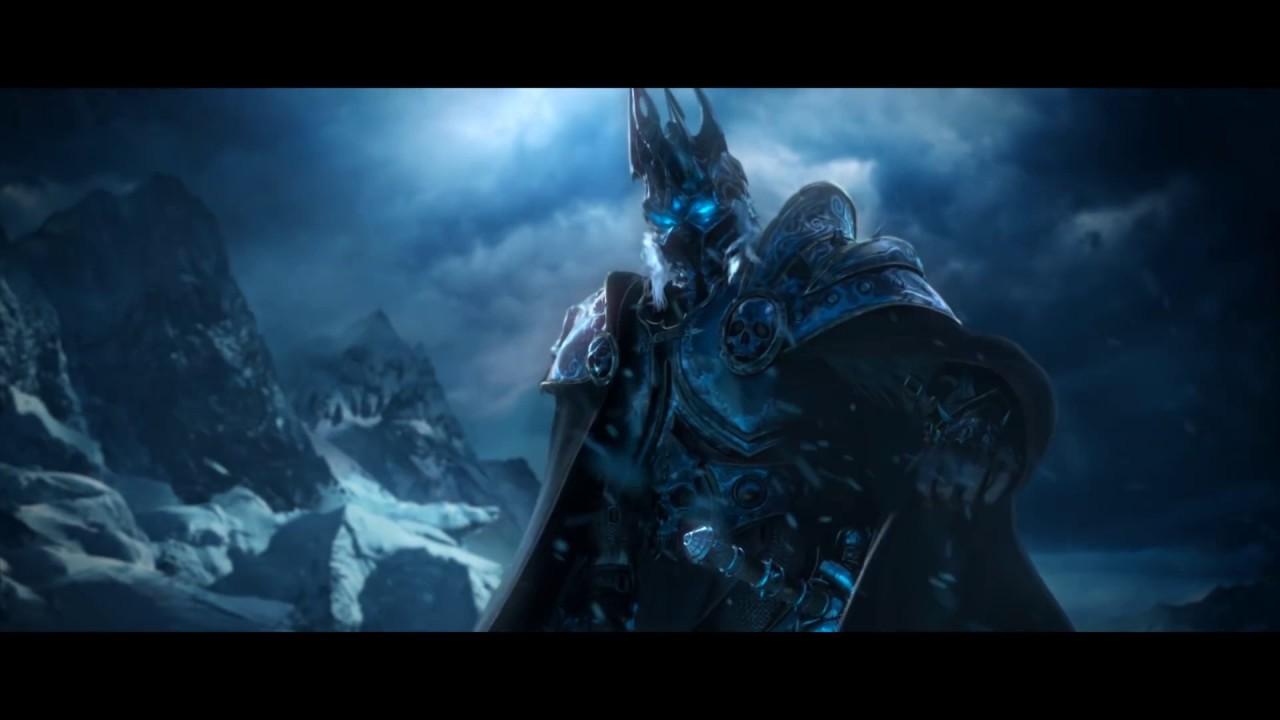 WoW Lich King | Эпидемия - Всадник из льда (Эльфийская рукопись) - YouTube