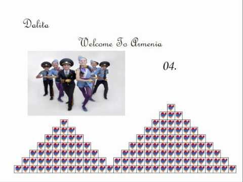 JESC 2011 Armenia: 04. Dalita - Welcome To Armenia (STUDIO VERSION)