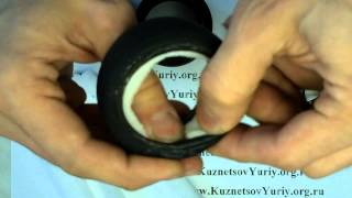 Как одевать резину на колеса 1:10 масштаба