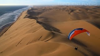 Frequent Flyers Project #3 - Paragliding in Namibia