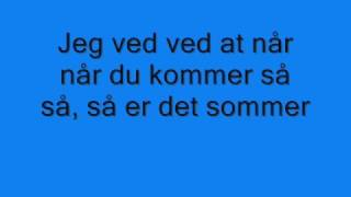 Johnny Deluxe - Så er det sommer (with lyrics)