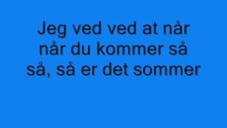 Johnny Deluxe - Så er det sommer (with lyrics)