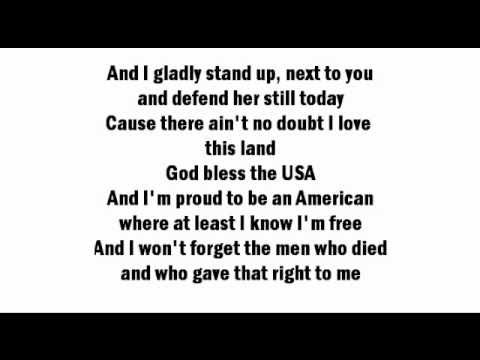 Beyonce - God Bless The USA (Lyrics On Screen + Download)