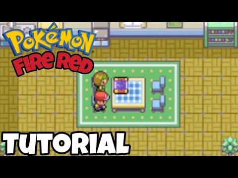 Pokemon Fire Red Tutorial Onde Pegar O Mapa Youtube