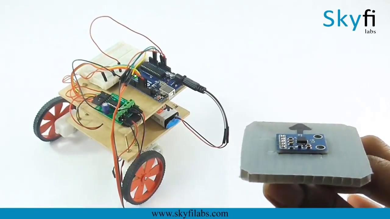 Roboversity Gesture Based Robotics Workshop at Skyfi Labs Center, Pune