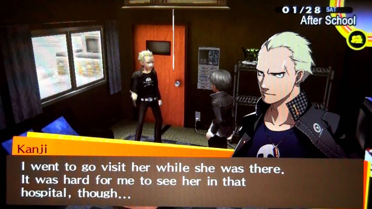 persona 4 golden dating kanji Late to the game: persona 4 golden  with the only other real japanese dating sim-styled title that i had ever really tried before  such as kanji's confusion .