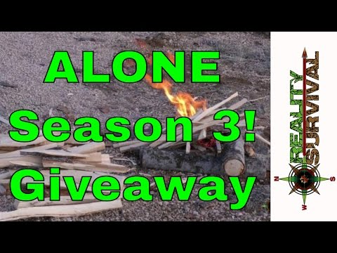 Alone On History - Season 3 + A Giveaway + 3 Survival Tips!