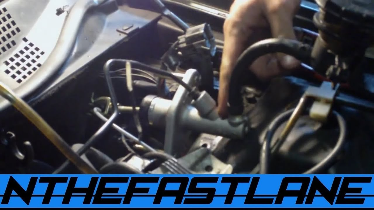 replace a clutch master cylinder how to  [ 1366 x 768 Pixel ]