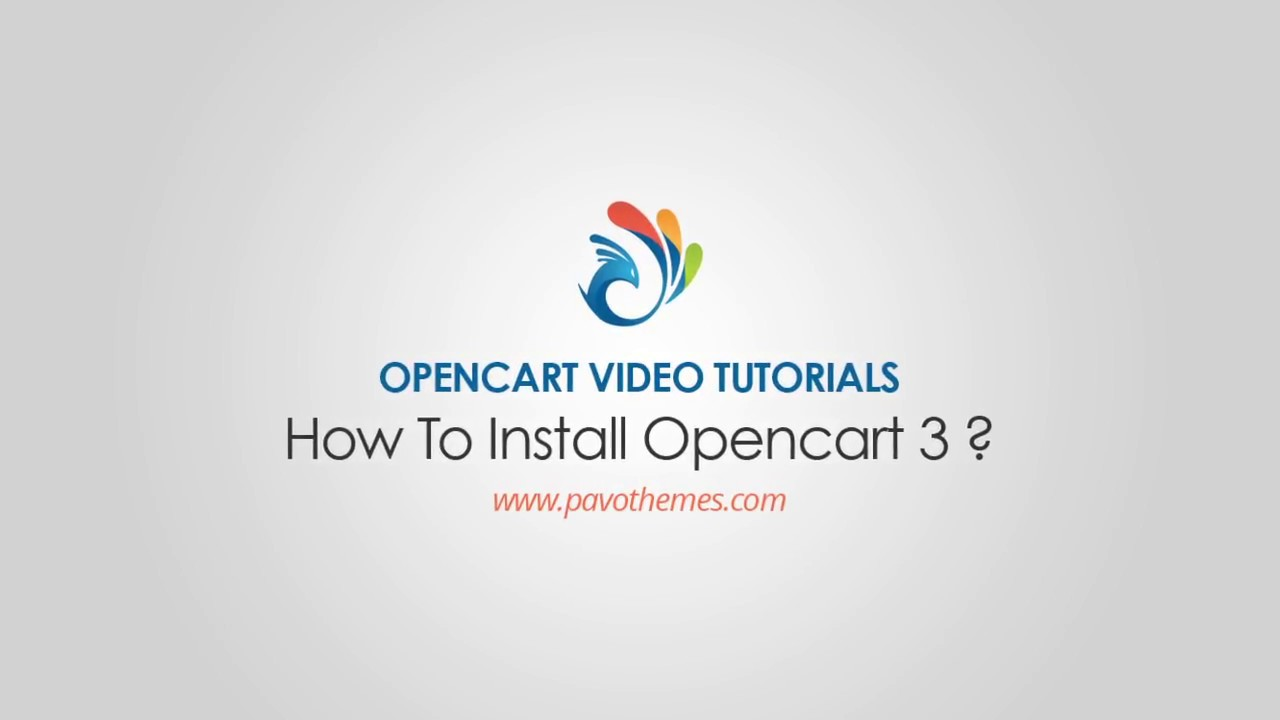 How to install OpenCart 3 step by step video tutorials?