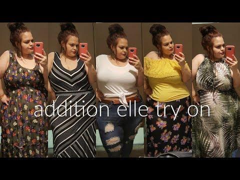INSIDE THE DRESSING ROOM @ ADDITION ELLE