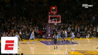 Lakers beat Magic after clock expires without ball being touched on controversial inbound | ESPN
