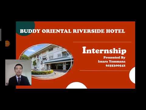 Internship at Buddy Oriental Riverside Hotel