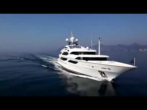 Интерьеры роскошных яхт.