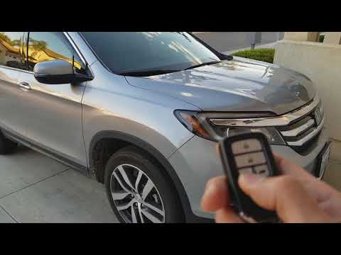 Everything You Need To Know About Wireless Key FOB 2018 Honda Pilot EX L Elite Touring! 3 27 2018