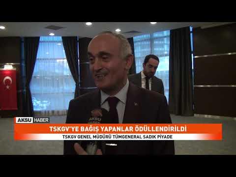 TSKGV Bağış Kampanyası Madalya Töreni