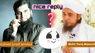 Junaid Jamshed ki gustakhi ka jawab by Mufti Tariq Masood nice reply Islamic YouTube