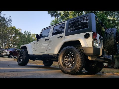 2017 Jeep Wrangler Unlimited Sahara - Fuel Wheels