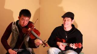 Video The Man Who Can't be Moved - The Script (Jon C. Chen Violin Cover) with Ukulele download MP3, 3GP, MP4, WEBM, AVI, FLV Agustus 2018