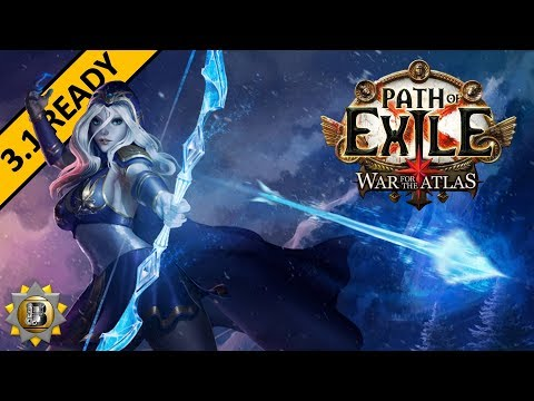 [3.1] Ice Shot Build - Raider Ranger - Path of Exile War For The Atlas - Abyss