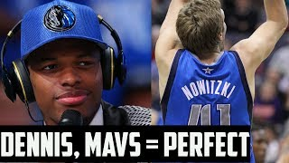 Dennis smith & the mavericks are perfect for each other | nba draft 2017