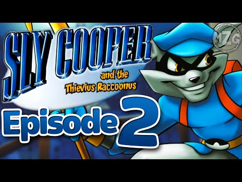 Cool New Moves! - Sly Cooper and the Thievius Raccoonus Playthrough - Episode 2