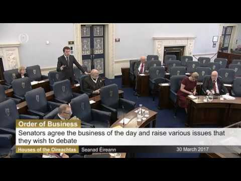Seanad: Order of Business 30th March 2017