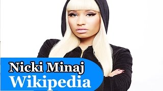 Nicki Minaj Wikipedia & Wikipedoo