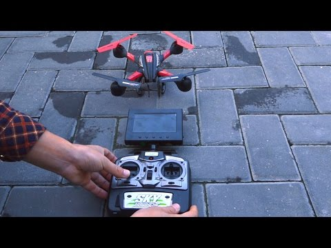 Дрон Sky HawkEye HM1315S с 5.8G FPV монитор за гледане в реално време 26