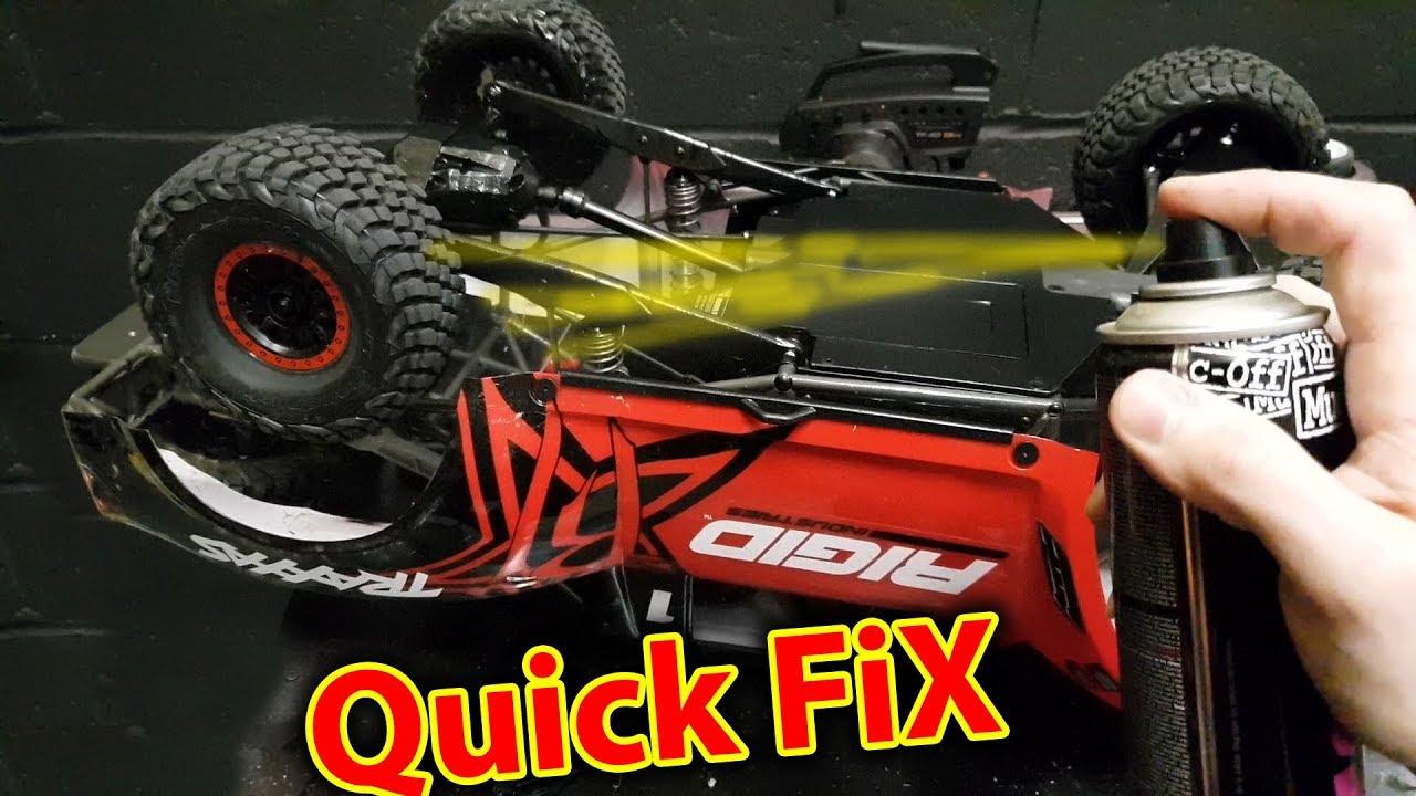 Traxxas Udr Weak Spots Quick Fix Youtube