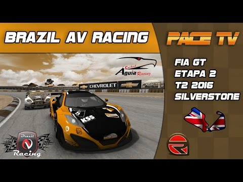 BRAZIL AV RACING - FIA GT - T2/2016 - 2ª ETAPA SILVERSTONE