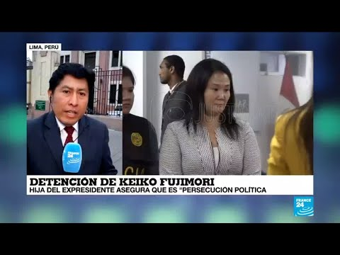 Informe desde Lima: Fujimoristas rechazan detención de Keiko