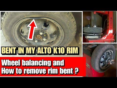How To Repair Car Rim Bent And Wheel Balancing, Wheel Balancing और Rim Dent को ठीक कैसे कराएं?