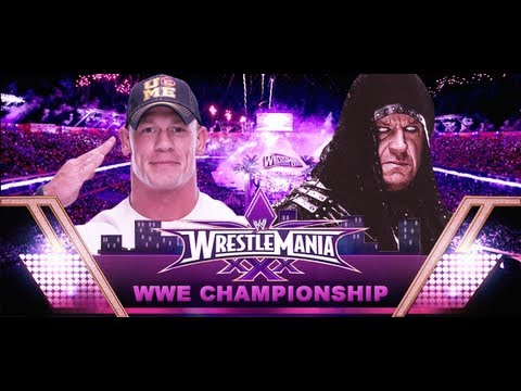 The Undertaker vs John Cena Wrestlemania 30 Promo HD - YouTube