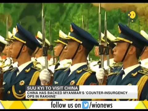 Myanmar leader Aung San Suu Kyi to visit China